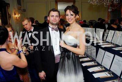 Nelson Lewis, Jessica James Golden, November 20, 2010, Capital City Ball, Kyle Samperton