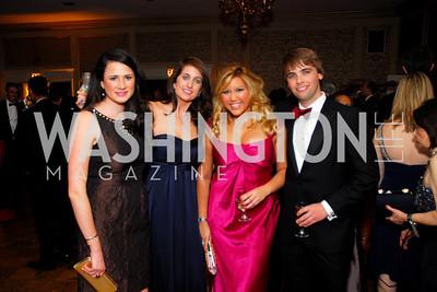 Austen Shearer, Laura Simmons, Quinn Woodward-Pu, Zach Caldwell, November 20, 2010, Capital City Ball, Kyle Samperton
