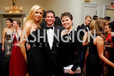 Aubrienne Szabo, Mark Richards, Melissa Santo, November 20, 2010, Capital City Ball, Kyle Samperton