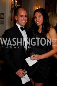 James Guzman, Alezandra Russell, November 20, 2010, Capital City Ball, Kyle Samperton