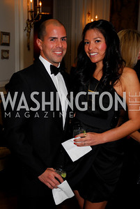 James Guzman, Alezandra Russell, November 20, 2010, Capital City Ball, Kyle Samperton