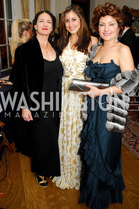 Ilene Tognini, Sahar Jahan, Sheila Jahan, November 20, 2010, Capital City Ball, Kyle Samperton