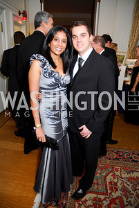 Lisa Mehta, Ryan Moore, November 20, 2010, Capital City Ball, Kyle Samperton