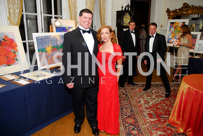 Jeff Smithberger, Michele Lebar, November 20, 2010, Capital City Ball, Kyle Samperton