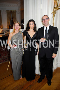 Jenny Hopkins, Karen Kaya, Art Mitchell, November 20, 2010, Capital City Ball, Kyle Samperton