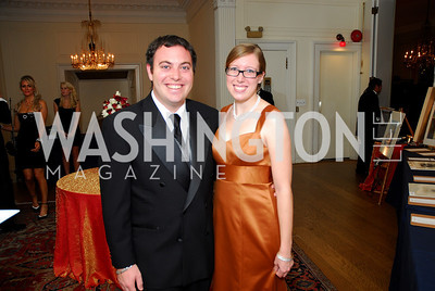 Michael Cherner, Lisa Rowan, November 20, 2010, Capital City Ball, Kyle Samperton