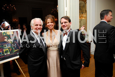 Bill Farrand, Bobbie Peterson, Raphael Richards, November 20, 2010, Capital City Ball, Kyle Samperton