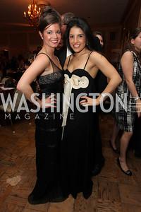 Natalie Grigorian, Torrey Shallcross. 2009 Capital City Ball. The Washington Club. November 21, 2009. Photos by Samantha Strauss.