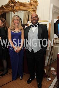 Jay Gholson, Jennifer Herrick. 2009 Capital City Ball. The Washington Club. November 21, 2009. Photos by Samantha Strauss.