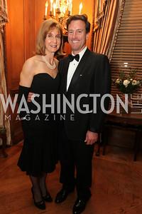 Paula Dobriansky, Bruce Friedman. 2009 Capital City Ball. The Washington Club. November 21, 2009. Photos by Samantha Strauss.