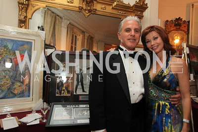 Janice Hamilton, Dave Berkey. 2009 Capital City Ball. The Washington Club. November 21, 2009. Photos by Samantha Strauss.