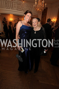 Pamela Brehm, Donna Shore. 2009 Capital City Ball. The Washington Club. November 21, 2009. Photos by Samantha Strauss.