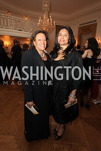 Marcia Dyson, Marilyn Charity. 2009 Capital City Ball. The Washington Club. November 21, 2009. Photos by Samantha Strauss.