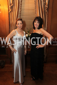 Executive Committee Members Liz Sara, Michelle Lebar. 2009 Capital City Ball. The Washington Club. November 21, 2009. Photos by Samantha Strauss.