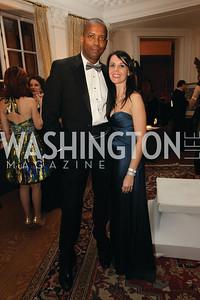 Veronica Yackuboskey, Rich Jacobs. 2009 Capital City Ball. The Washington Club. November 21, 2009. Photos by Samantha Strauss.
