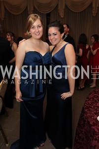 Leslie Rice, Sara Cherico. 2009 Capital City Ball. The Washington Club. November 21, 2009. Photos by Samantha Strauss.