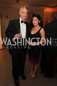 Joe Figlio, Sada Nak. 2009 Capital City Ball. The Washington Club. November 21, 2009. Photos by Samantha Strauss.