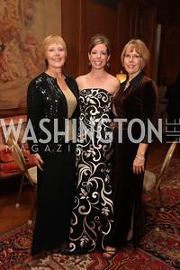 Holly Mchenry, Tamra Crean, Terri McNulty. 2009 Capital City Ball. The Washington Club. November 21, 2009. Photos by Samantha Strauss.