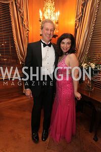 Lydia Zache, Michael Wayshner. 2009 Capital City Ball. The Washington Club. November 21, 2009. Photos by Samantha Strauss.