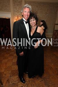 Deborah Keenan, Jeff Thaxton. 2009 Capital City Ball. The Washington Club. November 21, 2009. Photos by Samantha Strauss.
