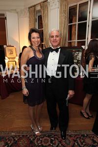 Rachel Jacobson, Dave Berkey. 2009 Capital City Ball. The Washington Club. November 21, 2009. Photos by Samantha Strauss.