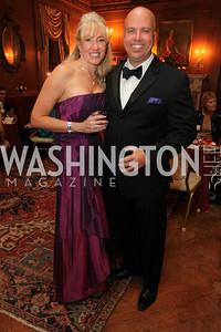 Jeff Roberts, Tanya Sabel. 2009 Capital City Ball. The Washington Club. November 21, 2009. Photos by Samantha Strauss.