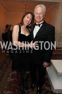 Montague Dement, Suzy Glucksman. 2009 Capital City Ball. The Washington Club. November 21, 2009. Photos by Samantha Strauss.