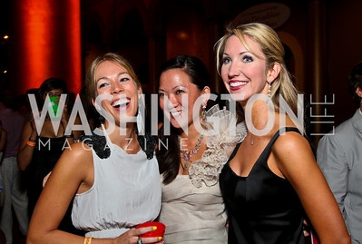 Photo by Tony Powell. Brooks Weilbacher, Leah Dyrud, Lindsey Mask. Capital Club's 18th Annual Sinatra Soiree. Building Museum. July 15, 2010