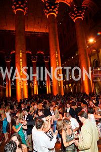 Photo by Tony Powell. Capital Club's 18th Annual Sinatra Soiree. Building Museum. July 15, 2010