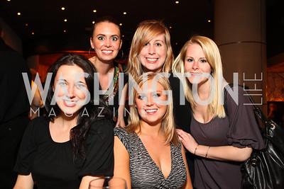 Becca Pike, Megan Seldon, Kylie Haworth, Emily Baldwin, Ashley Gardiner. Photo by Tony Powell