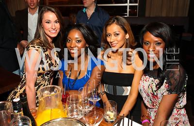 Kristin Edick, Emerald Stewart, Adriana Alfaro, Vanessa Dennis. Photo by Tony Powell