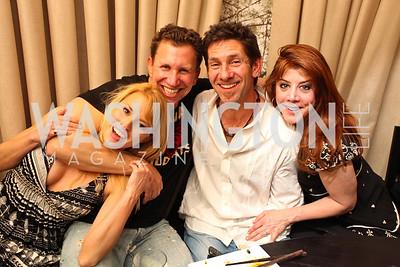Courtney DeYoung, Dr. Jay Greenstein, Carol Federman. David Weisbaum. Photo by Tony Powell