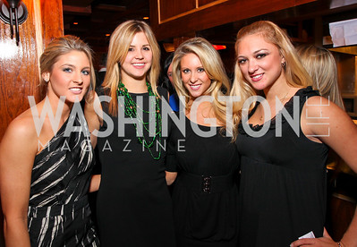 Chelsea Causey, Ashley White, Amanda Mitchell, Katie Rabziszewski. Capitol Movement Inc.'s 5th Annual Winter Fundraiser. The Reserve. January 14, 2010. photos by Tony Powell
