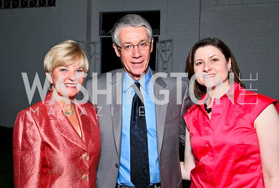 "Photo by Tony Powell. Cartier event announcing the 2010 Joan Hisaoka ""Make a Difference"" Gala. Levinas residence. May 20, 2010. Faye Morissette, Gordon Hay, Paula Hisaoka"
