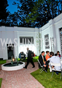 "Photo by Tony Powell. Cartier event announcing the 2010 Joan Hisaoka ""Make a Difference"" Gala. Levinas residence. May 20, 2010."