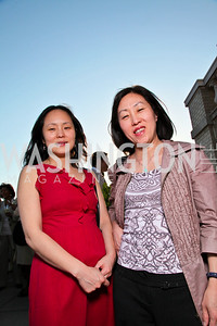 Annabel Park, Lynda Park. Photo by Tony Powell. Celebrating Diverse Voices in Media. Equihua Residence. April 30, 2010