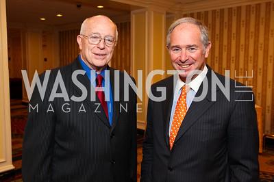 Ambassador Joseph Duffey, Stephen Schwarzman. CSPC Annual Awards Dinner. April 8, 2010. Photo by Tony Powell