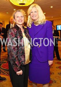 Ann Bernanke, Susan Blumenthal. CSPC Annual Awards Dinner. April 8, 2010. Photo by Tony Powell