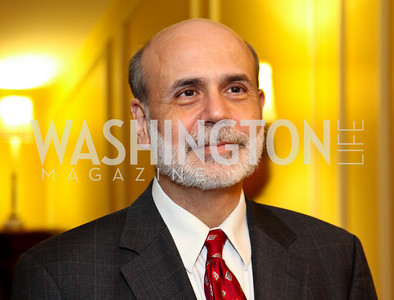 Federal Reserve Chairman Ben Bernanke. CSPC Annual Awards Dinner. April 8, 2010. Photo by Tony Powell