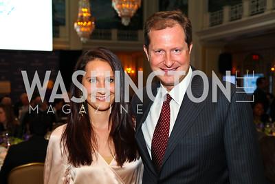Natalia and Mark Brzezinski. CSPC Annual Awards Dinner. April 8, 2010. Photo by Tony Powell