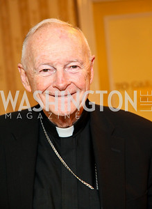 His Eminence Cardinal Theodore McCarrick. CSPC Annual Awards Dinner. April 8, 2010. Photo by Tony Powell