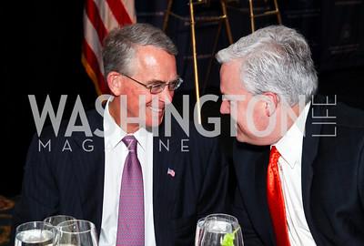 Ambassador Francis Rooney, Matt Schlapp. CSPC Annual Awards Dinner. April 8, 2010. Photo by Tony Powell