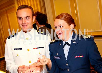 Noah Hudson, Whitney Bouchard. CSPC Annual Awards Dinner. April 8, 2010. Photo by Tony Powell