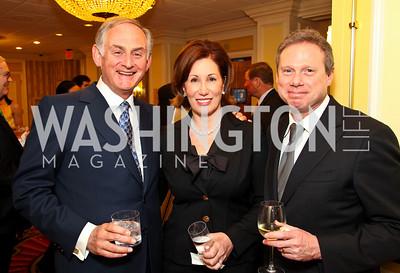 Stanley Zax, Catherine and Wayne Reynolds. CSPC Annual Awards Dinner. April 8, 2010. Photo by Tony Powell