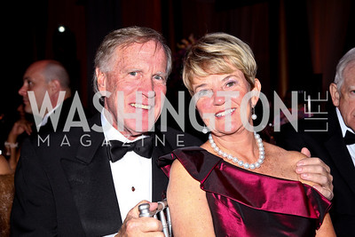 Photo by Tony Powell. Ken and Faye Morissette. Charity Works Dream Ball. National Building Museum. October 2, 2010