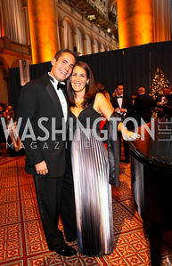 Photo by Tony Powell. David and Holly Karp. Charity Works Dream Ball. National Building Museum. October 2, 2010