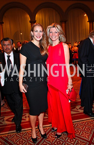 Photo by Tony Powell. Kirsten Lodal, Kay Kendall. Charity Works Dream Ball. National Building Museum. October 2, 2010