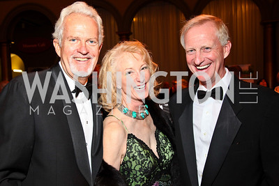 Photo by Tony Powell. Jack Davies, Lola Reinsch, Jack Evans. Charity Works Dream Ball. National Building Museum. October 2, 2010