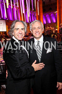 Photo by Tony Powell. Ernesto Santalla, Glen Ackerman. Charity Works Dream Ball. National Building Museum. October 2, 2010