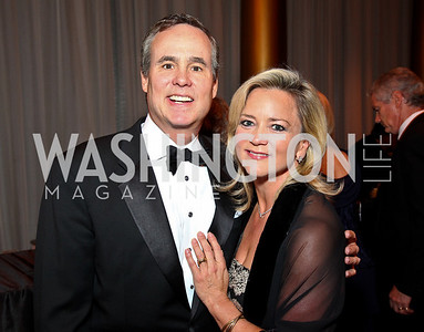 Photo by Tony Powell. Matt McCormick, Lyn McFadden. Charity Works Dream Ball. National Building Museum. October 2, 2010
